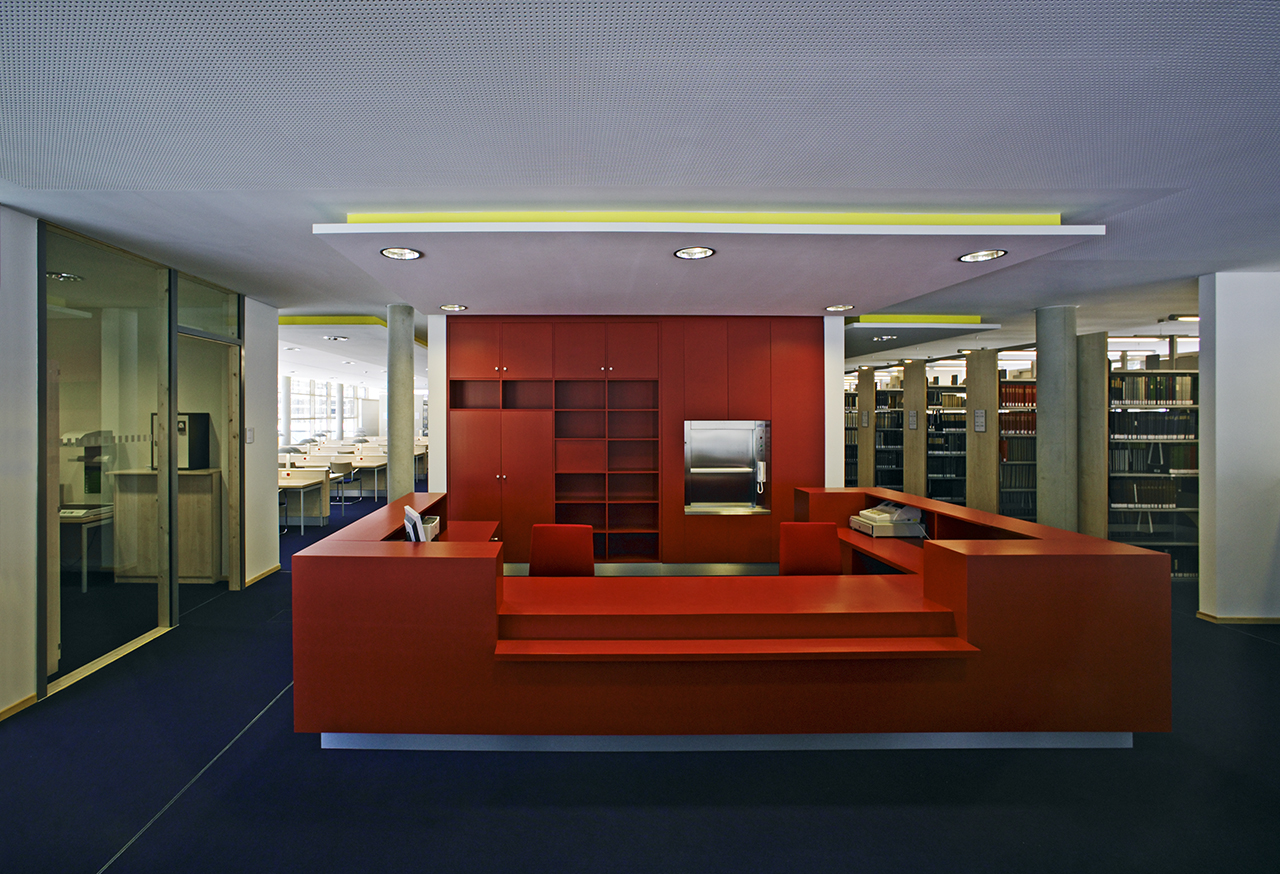 Tresen Bibliothek