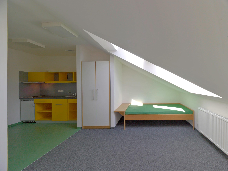 Zimmer grün