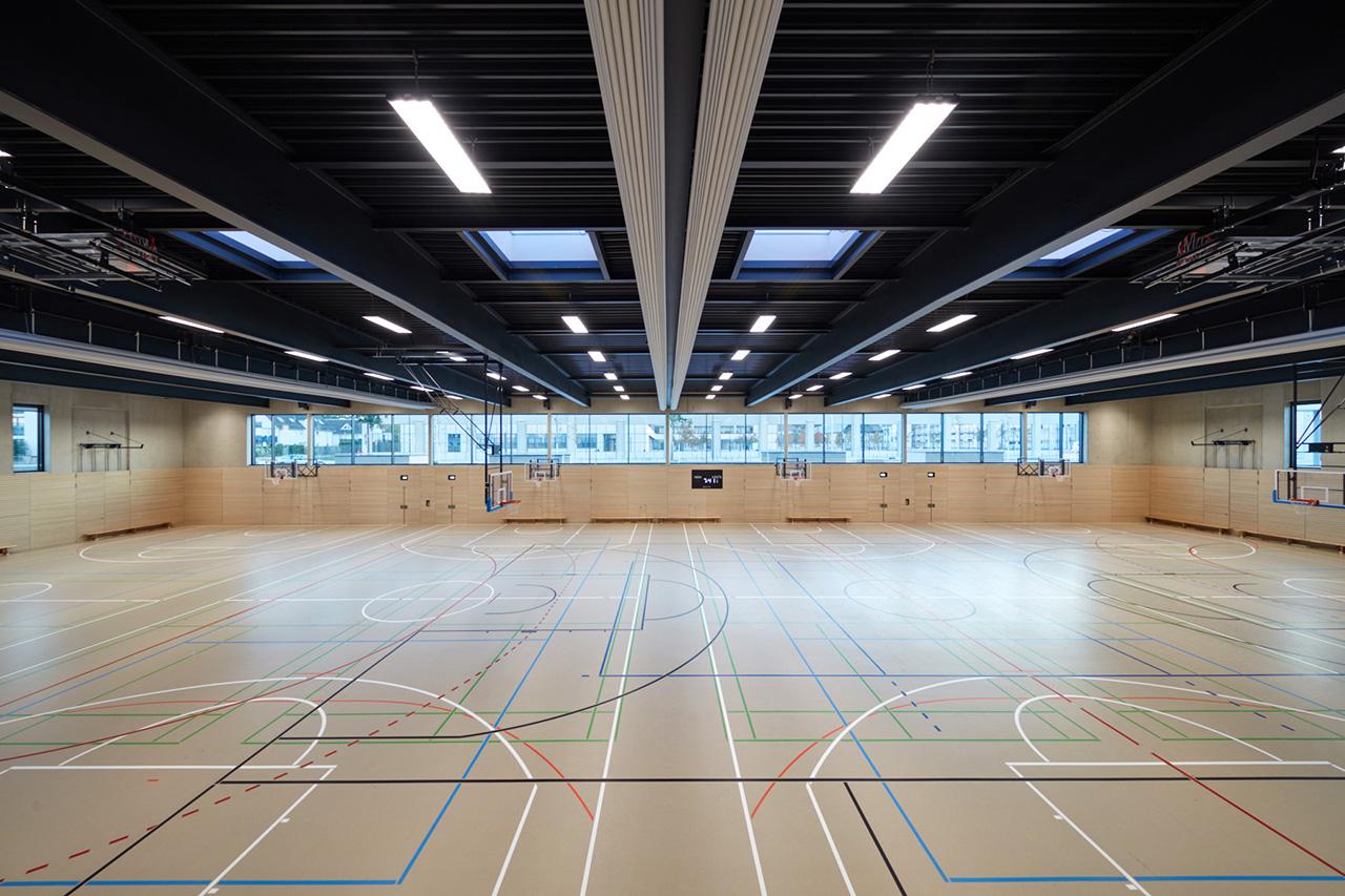 Innenraum Sporthalle