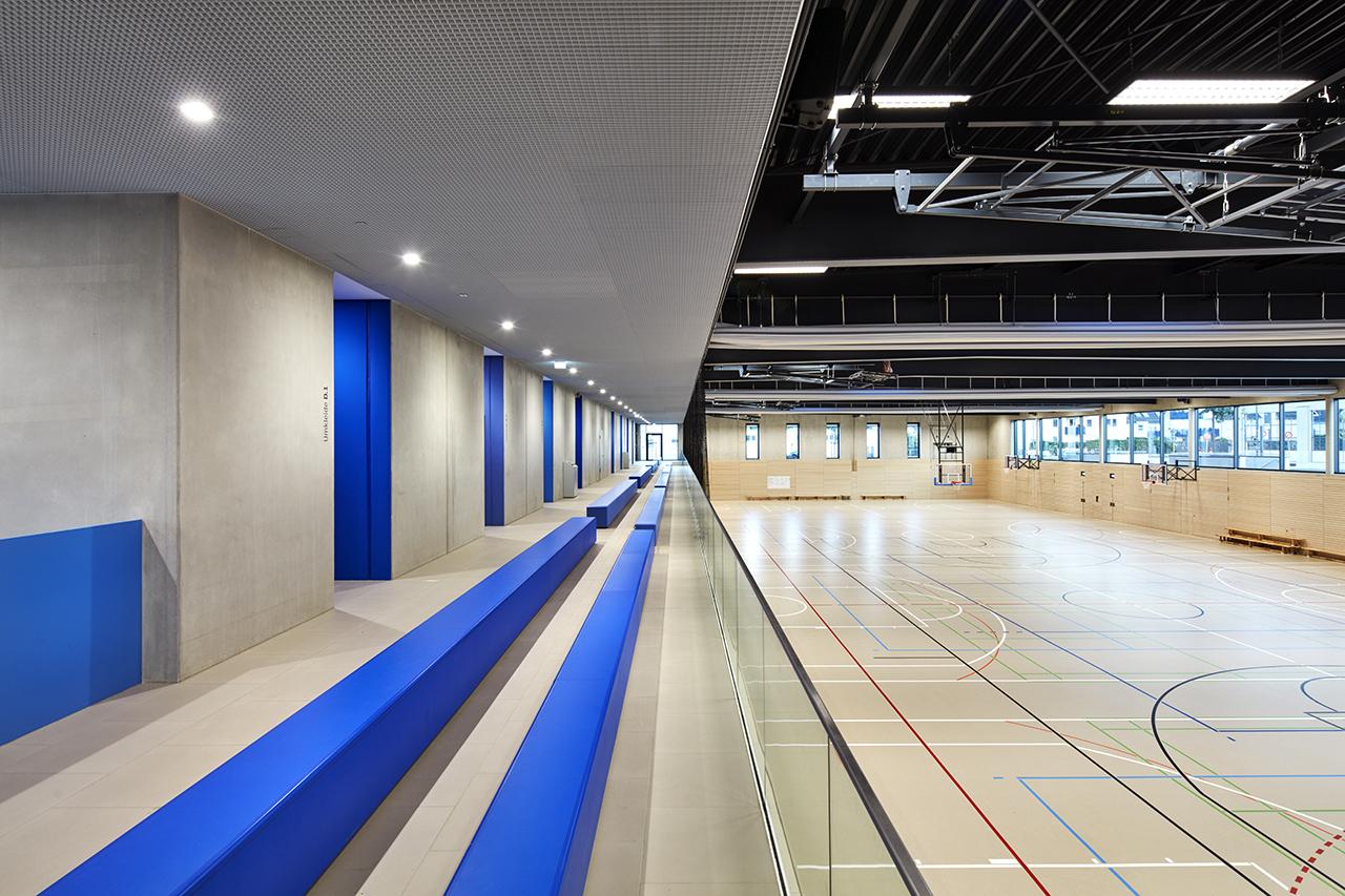Sporthalle Tribüne