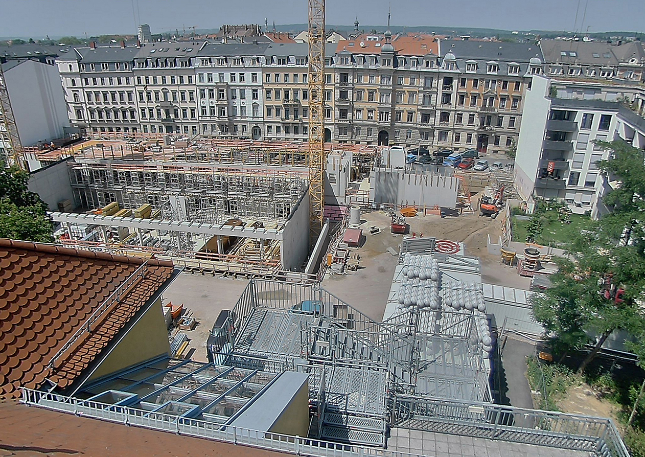 Baustelle BSZ