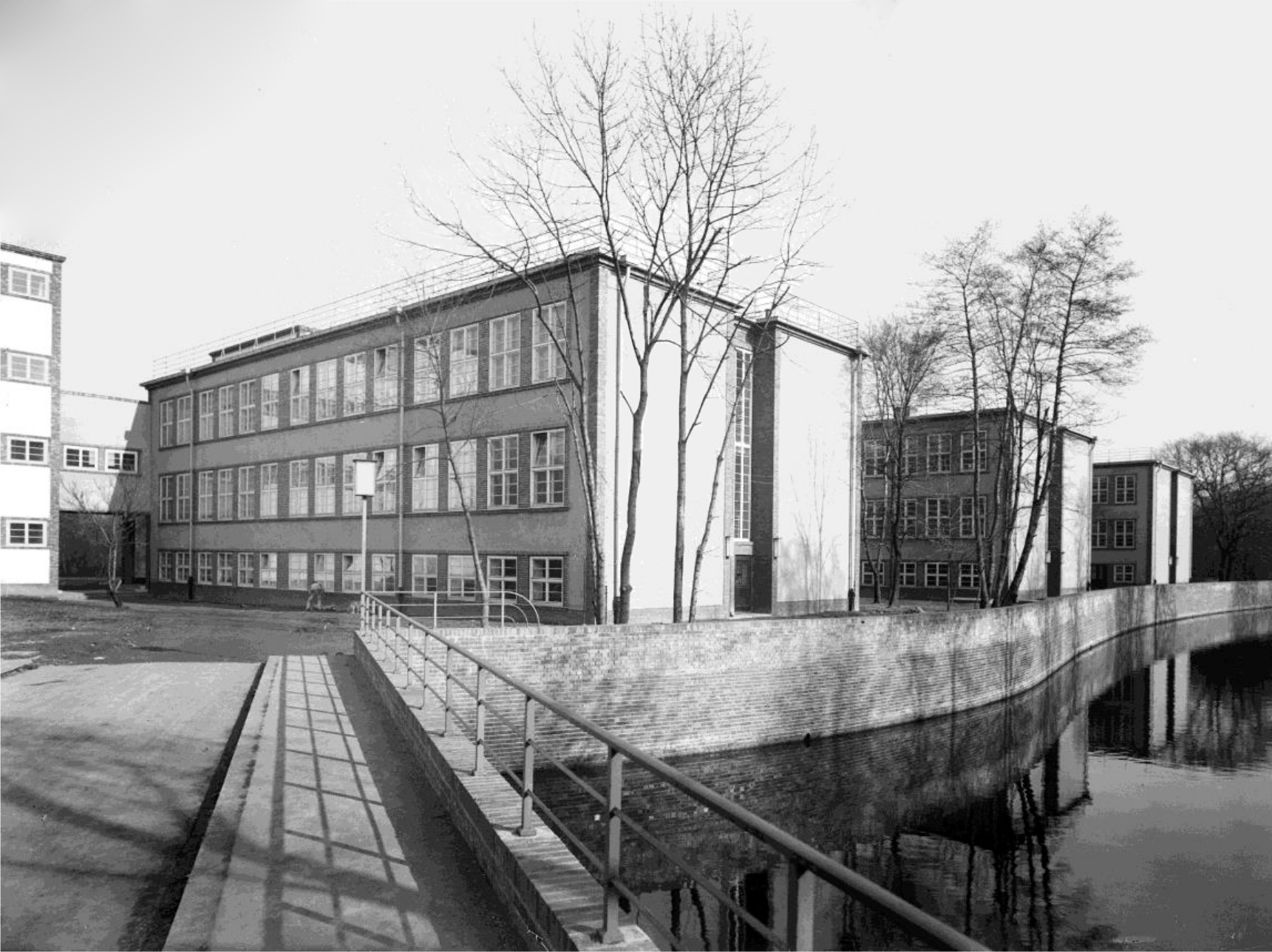 Schule an Luppe Historisch